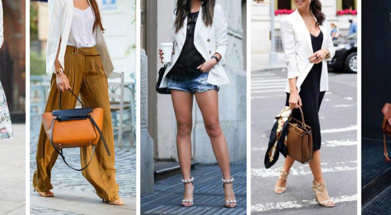 Beyaz Ceket İle Yapabileceğiniz 5 Farklı Kombin